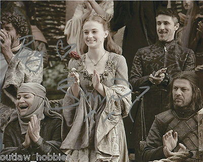 Sophie Turner Game of Thrones Signed Autographed 8x10 Photo COA #8