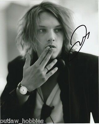 Jamie Campbell Bower Twilight Autographed Signed 8x10 Photo COA P