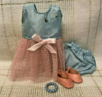 1950s Vintage Doll Clothes DRESS, Shoes, Panties, Ginger, Vogue Ginny, Muffie