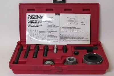 Matco Tools MST93A Pully Puller & Installer Set W/ Case