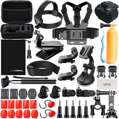 Accessories Kit Set for GoPro Hero 7 6 5 4 3 2 Session Sports Camera Chest Mount