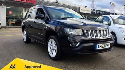 2013 Jeep Compass 2.2 CRD Limited 5dr Manual Diesel Estate