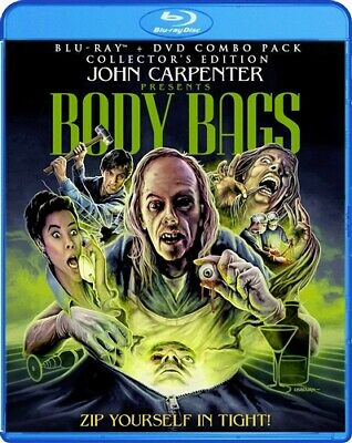 BODY BAGS New Blu-ray + DVD Collector's Edition John Carpenter Tobe Hooper