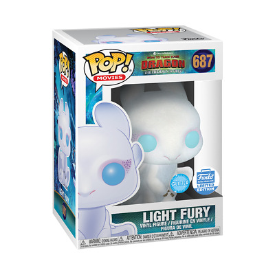Funko POP MOVIES: HOW TO TRAIN YOUR DRAGON - GLITTER LIGHT FURY