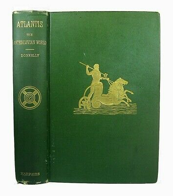 ATLANTIS Ancient HISTORY Occult 1882 Lovecraft CTHULHU Mound Builders AQUAMAN