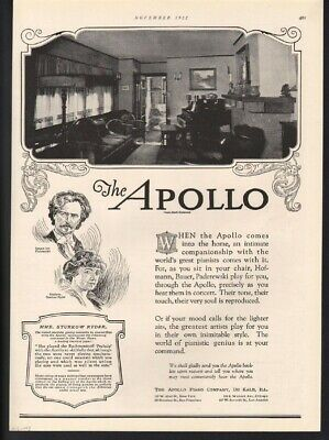 1922 Apollo Player Piano Sing Dance Music Concert Ryder Bauer Admic-093