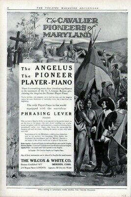 1913 Player Piano Music Nolley Pioneer Indian West Ad7567