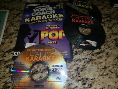 Ultimate Voice Coach Karaoke Pop Hits Vol 1 CD+G