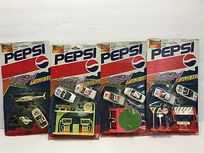 Lot of 4 PEPSI 1993 Golden Wheel Different Team Sets 1:87 Diecast