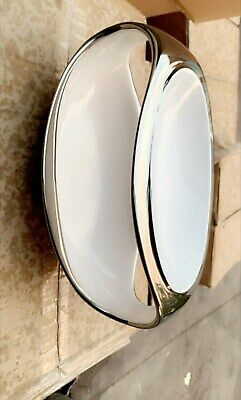 Glass wear for home and vases to hold fruit silver white