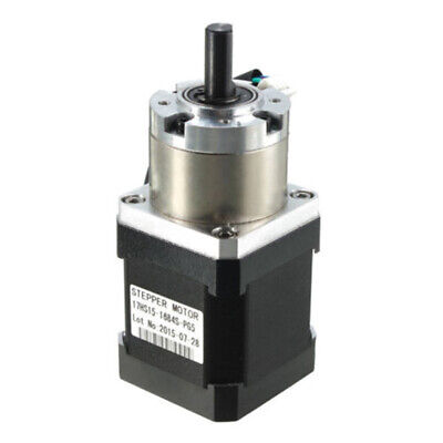 4 Leads 42 Motor Extruder Gear Stepper Motor Ratio 5:1 Planetary Gearbox Nema 17