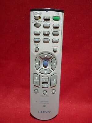 Sony Projector Remote Control Rm-Pjm15 With Laser Pointer Works Well