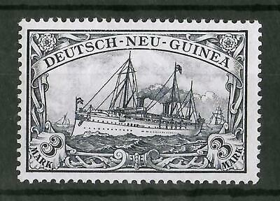 GERMAN NEW GUINEA 1900-1901 Mint NH 3 M Michel #18 CV €40