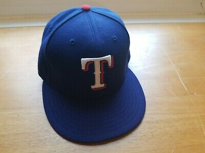 factory price d0568 77eee New Era Texas Rangers GAME 59Fifty Fitted 7 Hat (Royal Blue) MLB Cap