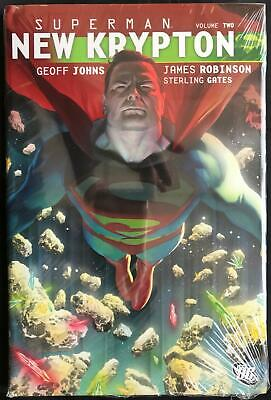 Dc Comics Superman New Krypton Vol 02 Hardcover By James Robinson