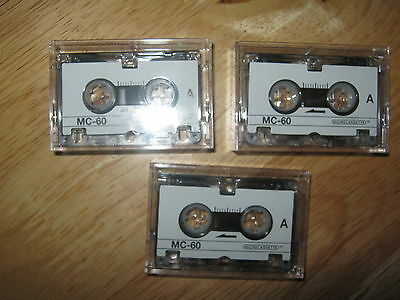 Micro Cassettes Bt Brand-New Cased X 3 Bargain Price