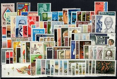 P101764/ Afrique Du Sud South Africa / Lot 1970 – 1985 Mint Mnh 120 €