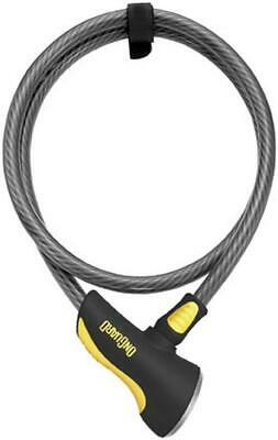 On Guard Locks Akita 12MM Cable 10' W/Integrated Lock Motorcycle Security/Lock