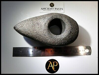 Prehistoric Neolithic Polished Granite Axe-Hammer – English Found Lincolnshire