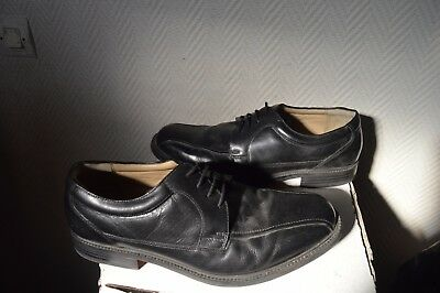 2997fe0b3d7c CHAUSSURE KENZO CUIR Taille 40 Leather Shoes Schu zapato scarpa Tbe ...