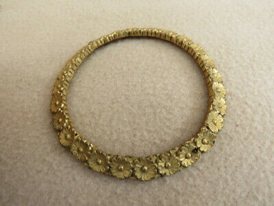 Antique Decorative Cast Gilt Brass Convex Dial Surround