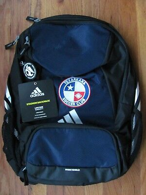 adidas Climaproof Stadium Team Gear Up Backpack Navy Black Texarkana Soccer  Club 6567a9521d2ec