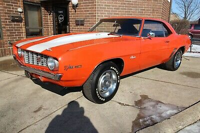 1969 Chevrolet Camaro Z28 - X33 - #'s Match + Protect-O-Plate 1969 chevrolet camaro z28 1967 1968 number matching x33 1970