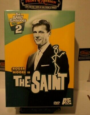 The Saint The Early Episodes  Set 2 DVD  2005  4-Disc Set Roger Moore free shipp