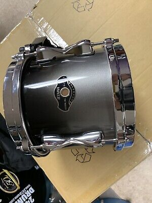 "Tama 8"" Superstar Tom Grey Black Fade Rare Used Great Drum add On To Drum Set"