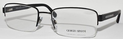 ab8f67c3eb3 New Authentic Eyeglasses Men Giorgio Armani Ar5020 3001 Matte Black 53-19 -140