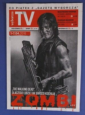 NORMAN REEDUS  THE WALKING DEAD mag.FRONT cover Andrew Lincoln,Melissa McBride