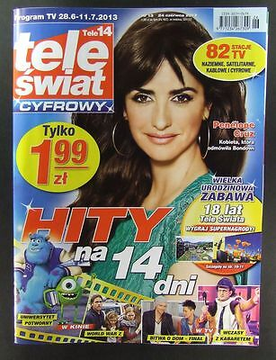 PENELOPE CRUZ  great mag.FRONT cover  No 13