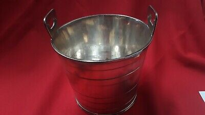 Bucket Ice Metal Silver Mappin And Webb's Ref42495