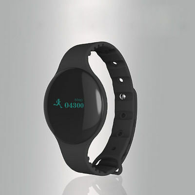BLACK Waterproof Bluetooth Smart Watch Phone Mate For Android IOS iPhone Samsung