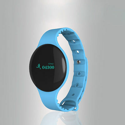 BLUE Waterproof Bluetooth Smart Watch Phone Mate For Android IOS iPhone Samsung