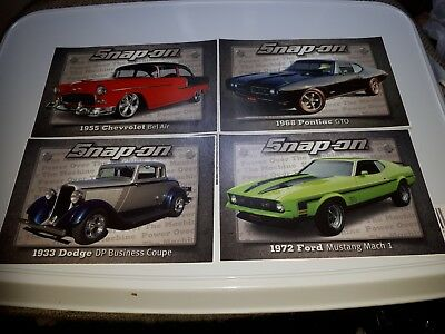 "Official Snap-On Tool Box Sticker ""American Pride Set of 4"" FREE P&P"