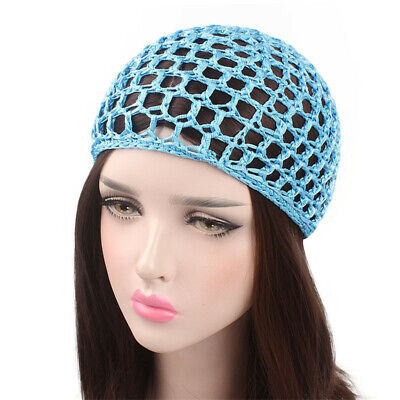 Hair Net Durable Pearl Decoration Hand-knitted Elastic Accessories For Women CB