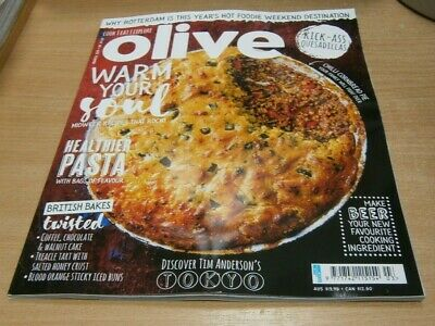 Olive mgazine MAR 2019 Healthier Pasta, British Bakes Twisted, Make with Beer &