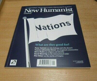 New Humanist magazine SPRING 2019 The Dividing Lines Issue, Bacteriophages &more