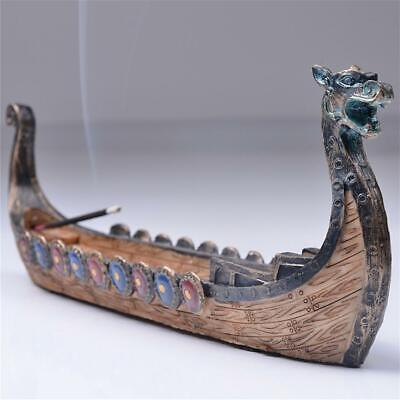 Dragon Incense Stick Holder Burner Hand Carving Censer Ornaments Home Decor New