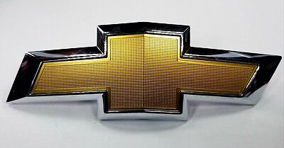 Chevrolet Equinox NEW OEM Front Grille Gold Bow Tie #23136671 Chevy Bowtie