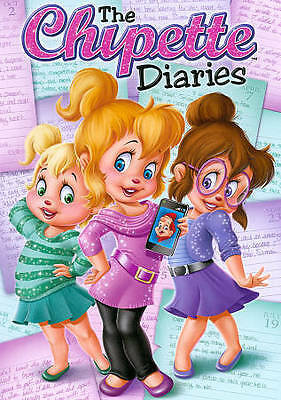 Alvin and the Chipmunks: THE CHIPETTE DIARIES (DVD) dave chippette & alvinn NEW