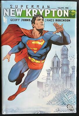 DC Comics Superman New Krypton HC Vol 01 by Geoff Johns (Hardback, 2009)