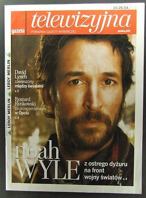 NOAH WYLE  great polish mag.FRONT cover,  Twin Peaks