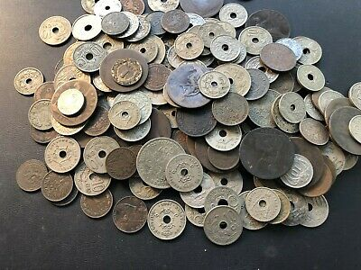 Bulk Lot of 200+ Assorted Worldwide Coins, All Over 100 Years Old! Lot#A1