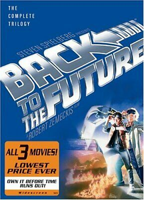 Back to the Future - The Complete Trilogy (Full Screen Edition) [DVD] NEW!