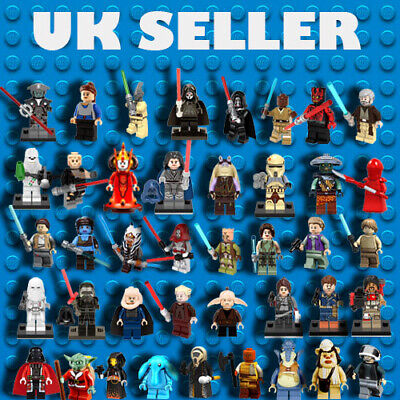 SALE LEGO STAR WARS MINIFIGURES & CUSTOM / NEW RARE MINI FIGURES 74pcs UK SELLER