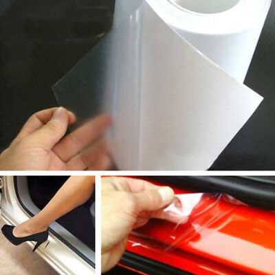 """6*60"""" Car Door Body Sill Edge Paint Anti-Scratch Protector Film Sticker Covers"""