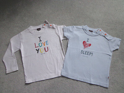 Paul Smith Baby Boys T-Shirt & Top x 2 Age 2 or 24 months