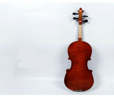 A40 Handmade 4/4 Full Size Wooden Violin Beginners Practice Musical Instrument M